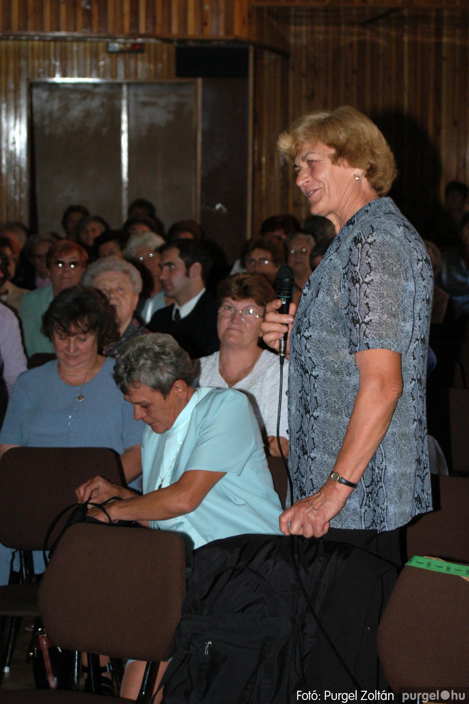 2003.09.20. 034 Elszármazottak találkozója 2003. Fotó:PURGEL ZOLTÁN© DSC_0040q.jpg