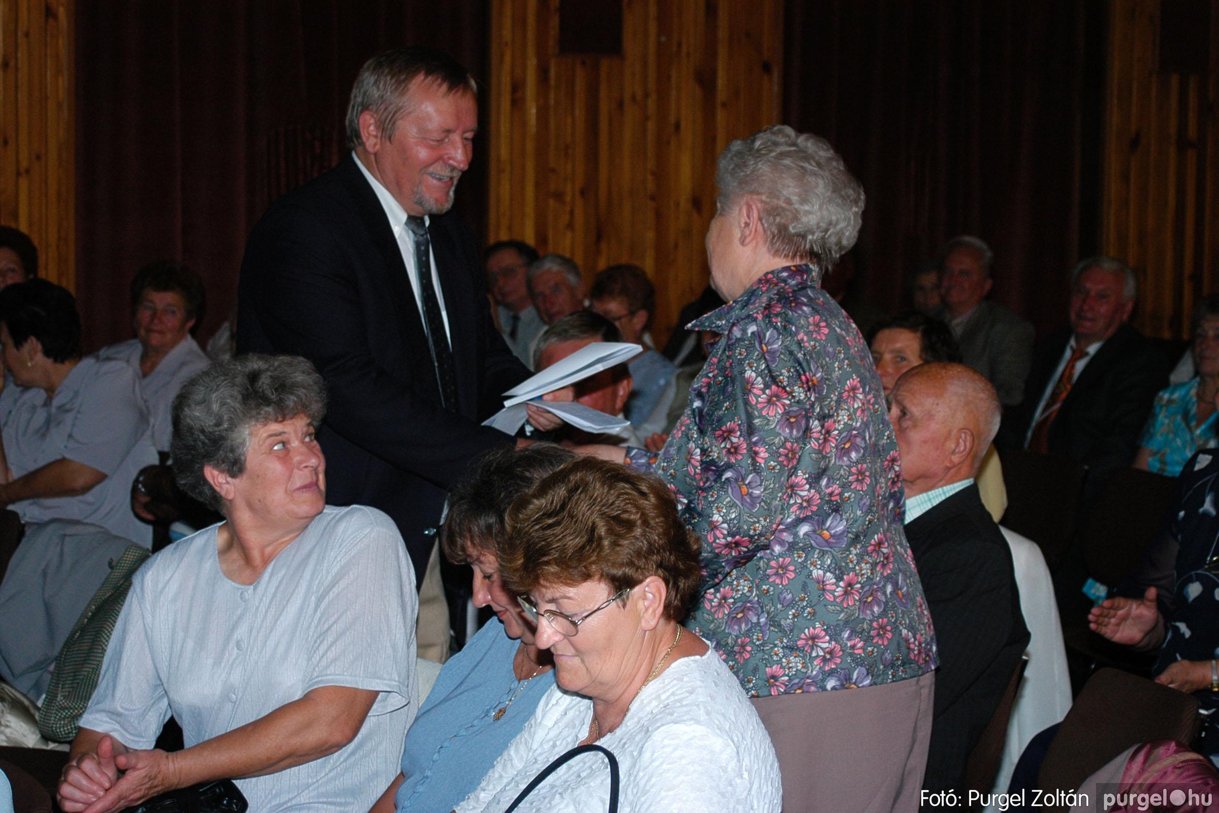 2003.09.20. 020 Elszármazottak találkozója 2003. Fotó:PURGEL ZOLTÁN© DSC_0025q.jpg