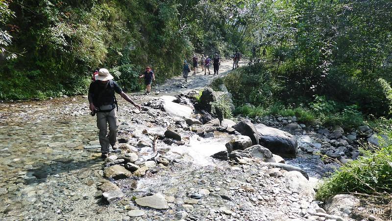 Nepal ABC trek Nayapul