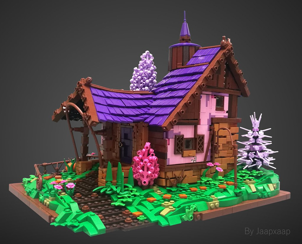 Home Sweet Home (custom built Lego model)