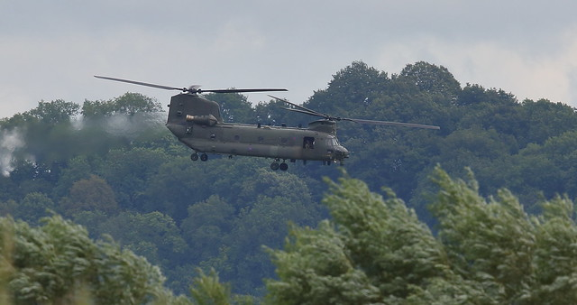 Low flying Chinook