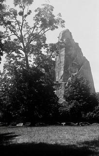 Bois de Vincennes - Rocher du Parc Zoologique