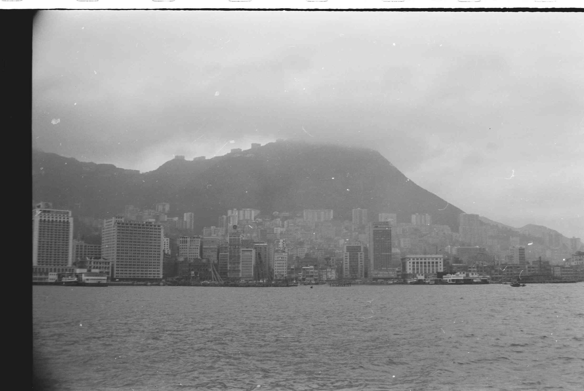 Hong Kong Skyline, circa 1964