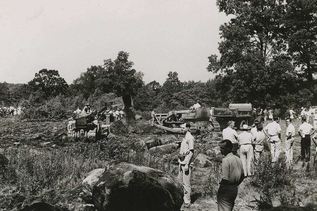 Field Day, spring 1950