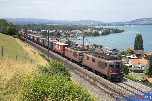 Re 425 175 + Re 425 184 . BLS Cargo . Einigen . 20.07.19.