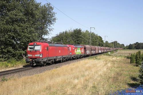 193 306 + 193 357 . DB Cargo . 48759 . Kaldenkirchen . 30.07.19.