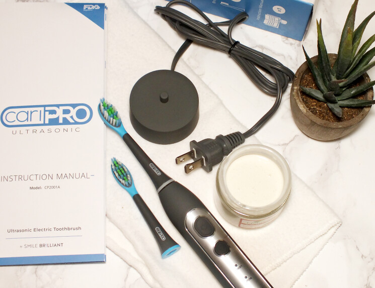 smile brilliant caripro ultrasonic toothbrush (1)
