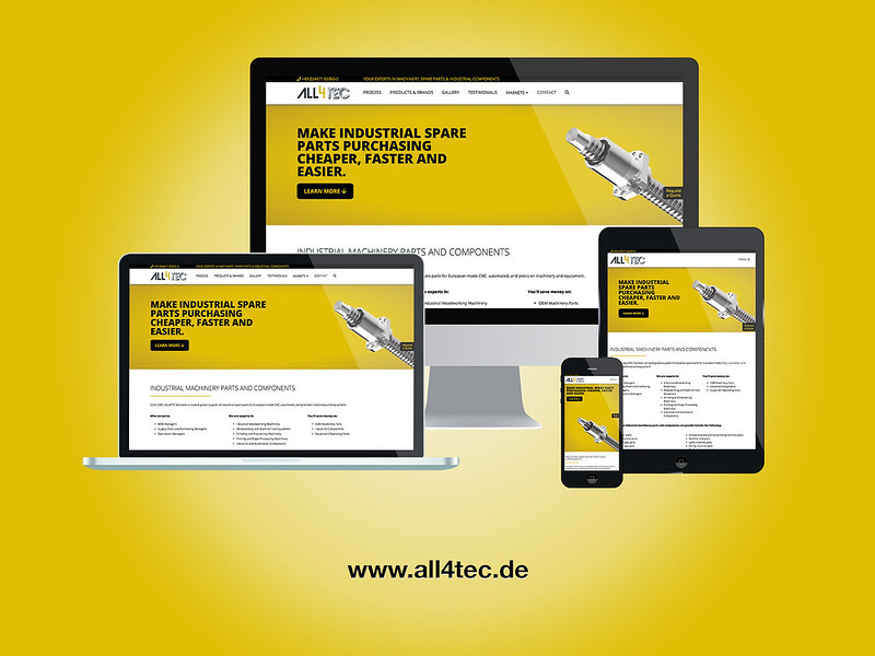 ALL4TEC Responsive Web Design