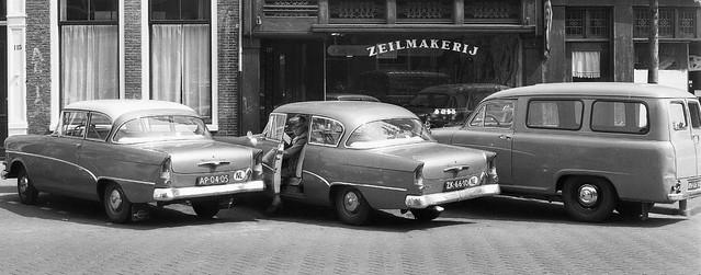AP-04-05 Opel Rekord P1 1959 ZK-66-10 Opel Rekord P1 1958 RN-06-50 Austin A55 Van 1958