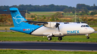 HB-AMC Zimex Aviation ATR 42-320(F) - Maastricht Aachen Airport (EHBK/MST)