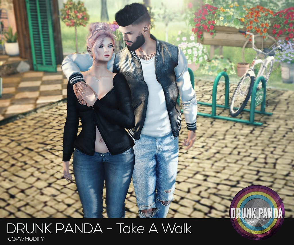 Drunk Panda - TakeAWalk - Couple - TeleportHub.com Live!
