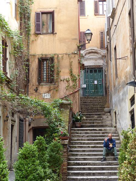 escaliers via dei coronari