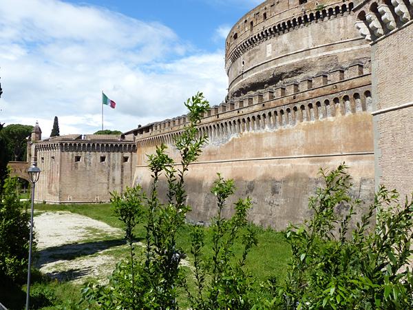 le château saint ange, Rome