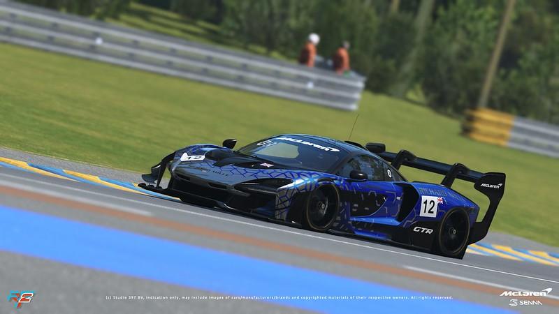 rFactor 2 McLaren Senna GTR