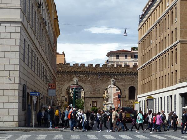 remparts du Vatican