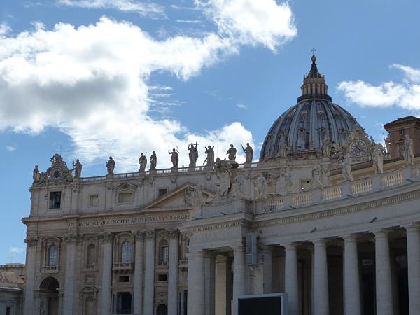 toit saint pierre de rome