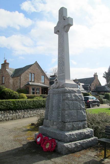Parish of Urquhart War Memorial, Conon Bridge