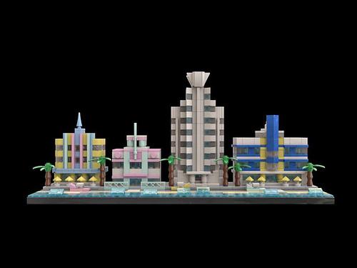 LEGO Miami Beach Art Deco 9 Front