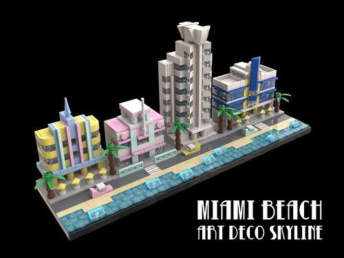 LEGO Miami Beach Art Deco 1 Cover