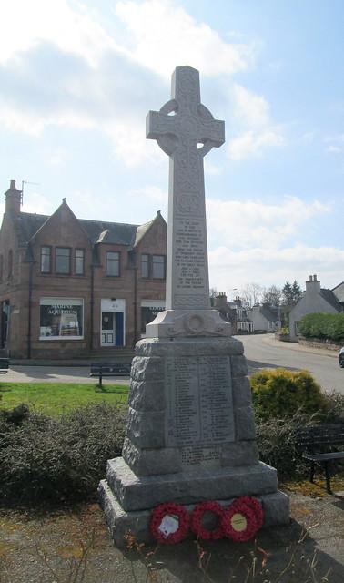 War Memorial, Conon Bridge, Parish of Urquhart