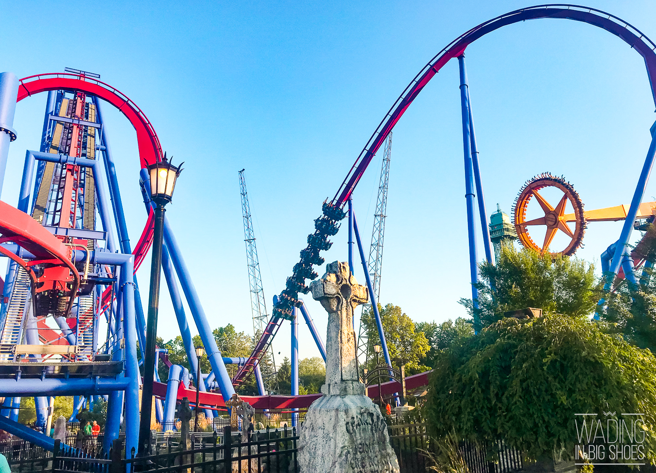 Wading in Big Shoes - Just How Scary Are The Roller Coasters at Kings Island? - Ride Guide & Review