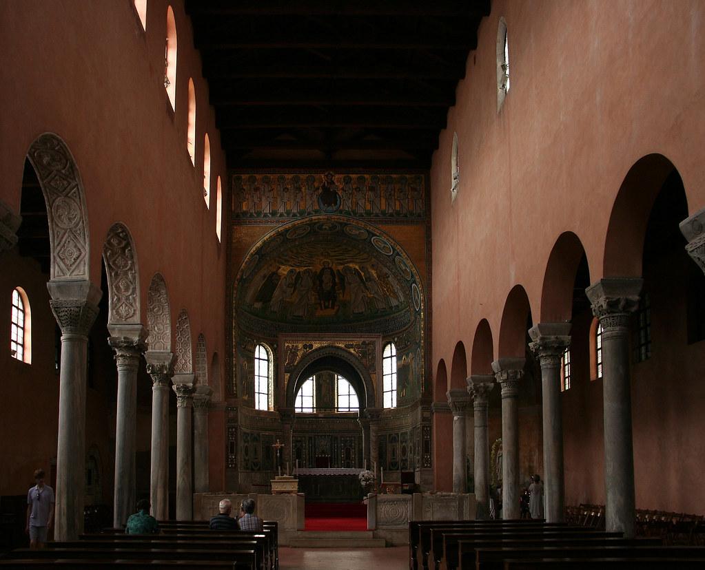 In the Euphrasian Basilica in Poreč