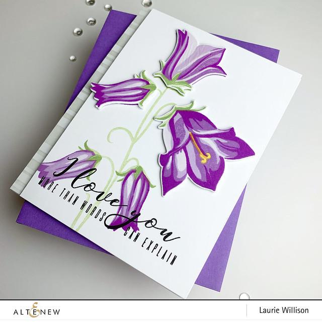 Altenew Bell Flower