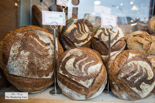 House made organic bread