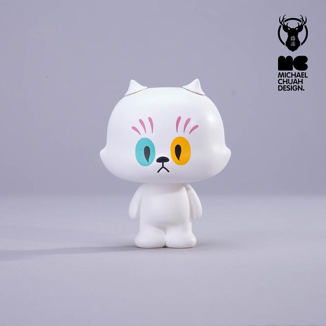 這些激萌的幽靈貓是從哪個鬼門出來的?!Michael Chuah × 路遙圓創 環保轉蛋「幽靈貓樣」第一彈 可愛登場~