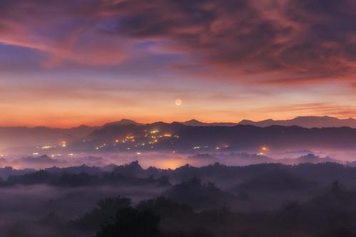 台灣 台南市 二寮 雲彩 雲海 雲 cloud sunrise taiwan tainan 6d ef2470mm 火燒雲 左鎮區 日出 晨曦 晨彩