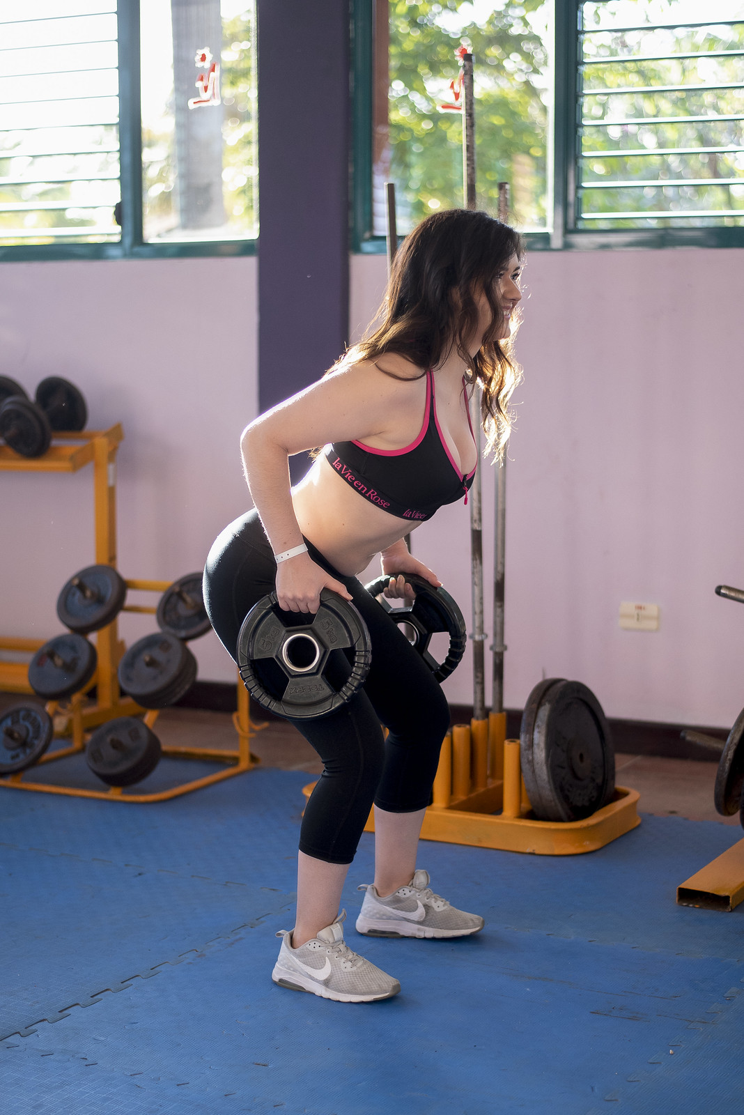 Marie-Chloé Falardeau brassieres de sport poids cuba