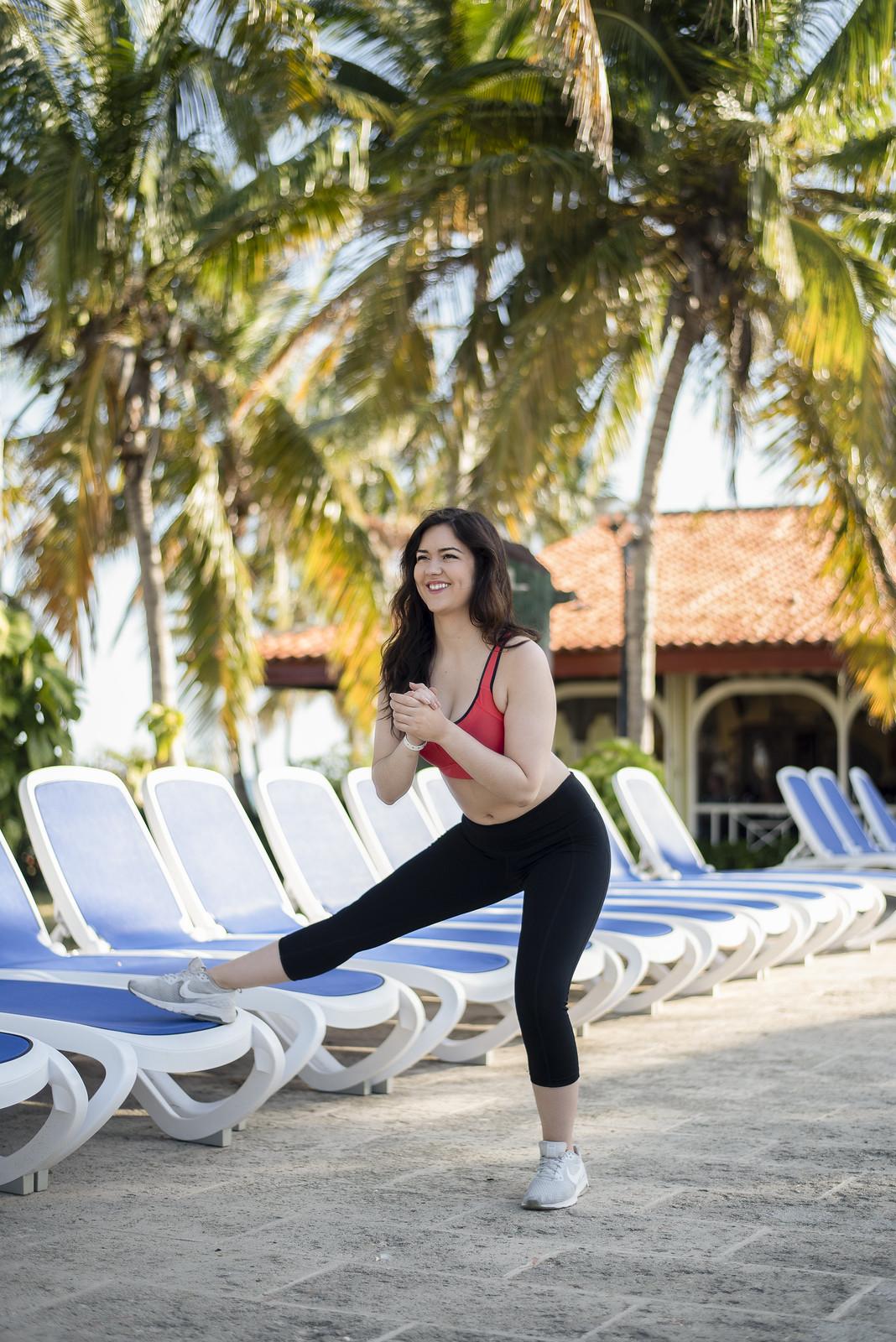 Marie-Chloé Falardeau brassieres de sport cuba exercice