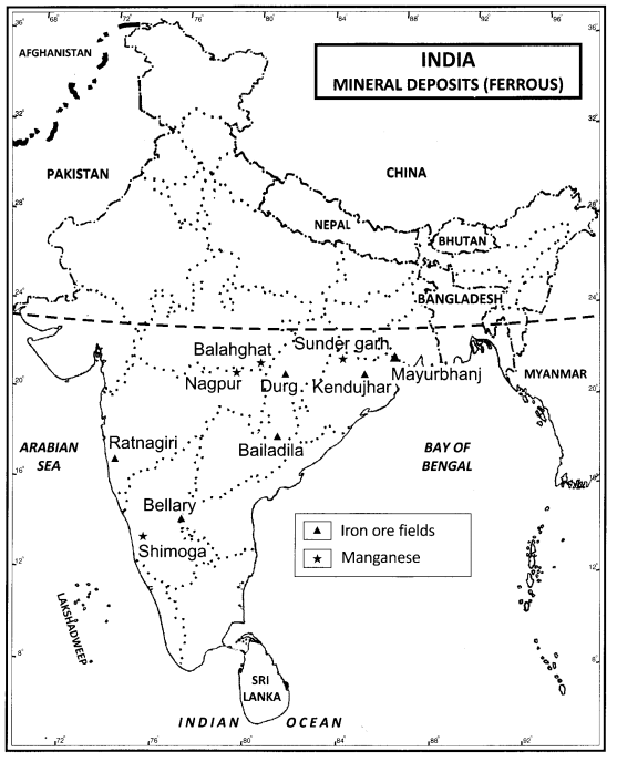 Class 12 Geography Ncert Solutions Chapter 7 Mineral And Energy Resources Learn Cbse