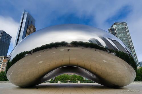 Cloud Gate selfie, Chicago