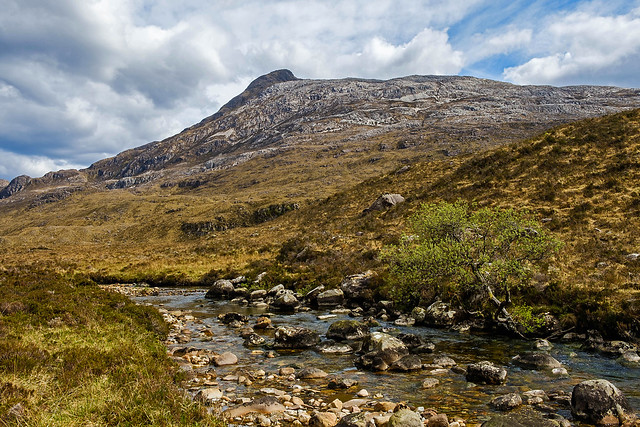 Sgurr Dubh and River Bran