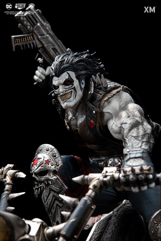 XM Studios Premium Collectibles 系列 DC Rebirth【暴狼】Lobo 1/6 比例全身雕像作品