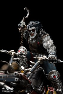 XM Studios Premium Collectibles 系列 DC Rebirth【暴狼】Lobo 1/6 比例全身雕像作品