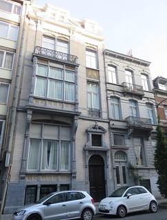 Art Nouveau Town House of Ixelles (Brussels, Belgium)