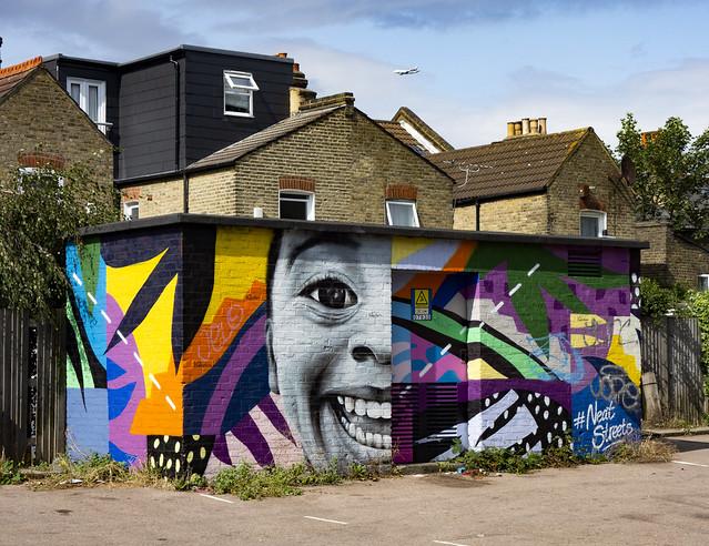 Street Art, Church Lane, Tooting