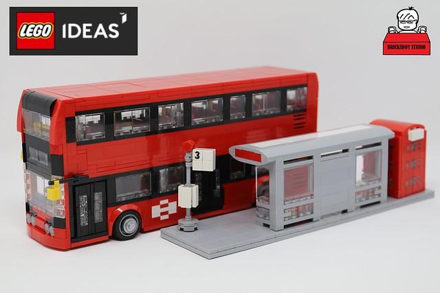 [MOC] 英國倫敦雙層巴士 Dennis Enviro 400
