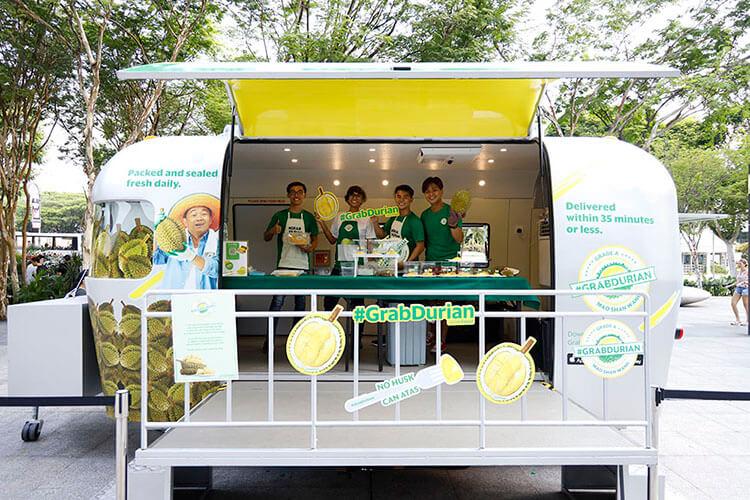 Grab Durian Plaza Sing