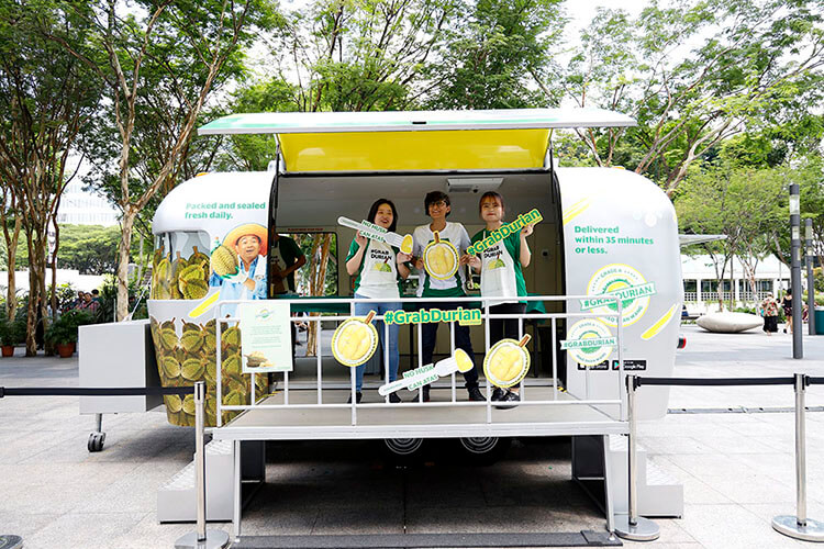 GrabDurian Events Caravan