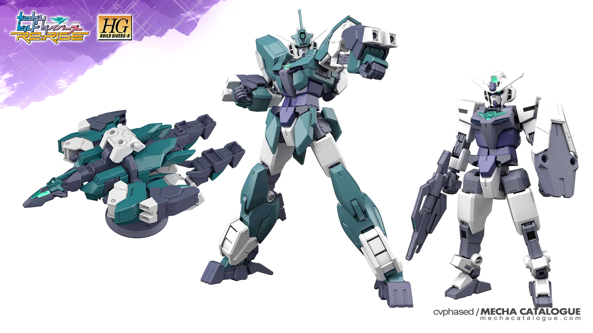 New Gunpla Line: High Grade BUILD DiVERS:R