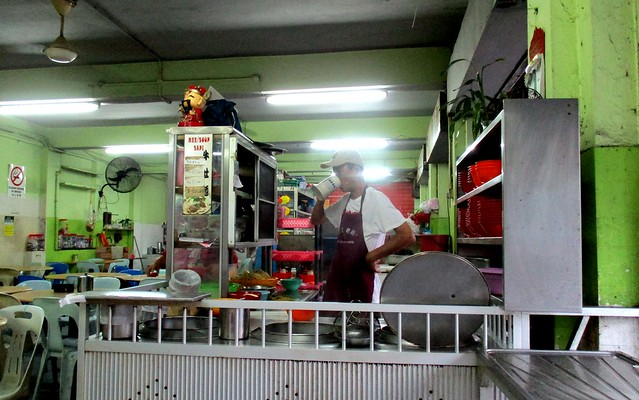 Beef noodles stall