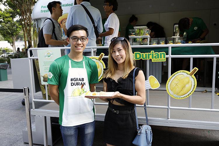 Grab Durian