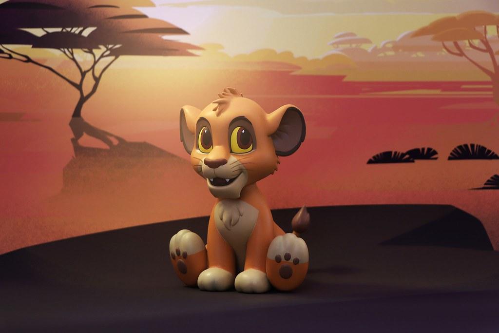 哈庫那馬他他~~ HEROCROSS HVS 系列《獅子王》丁滿&辛巴、彭彭 Timon & Simba、Pumbaa 無憂無慮登場!
