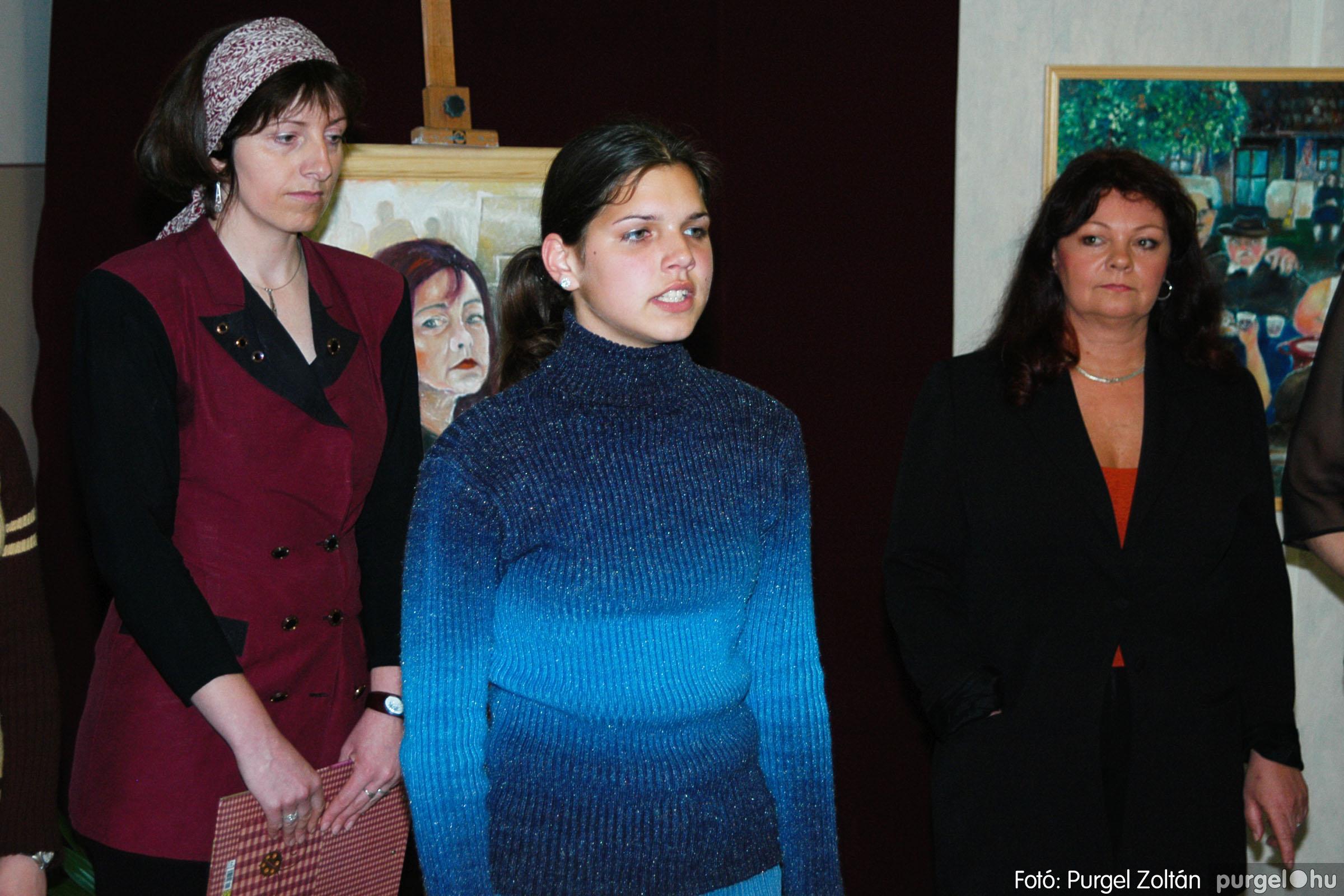 2004.05.08. 002 Gasztány Ludmilla Álmokkal átszőtt valóság című kiállítás - Fotó:PURGEL ZOLTÁN© DSC_0002q.jpg