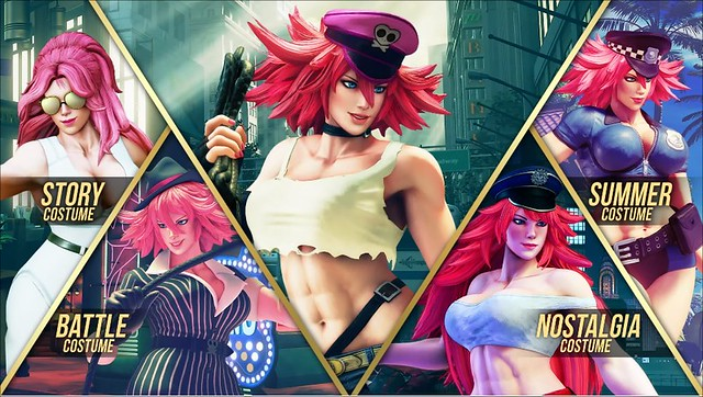 Street Fighter 5 - Poison Costumes