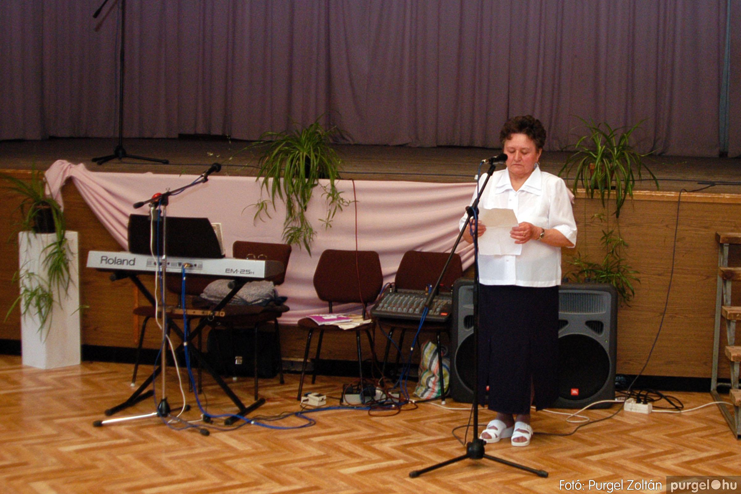 2004.05.04. 054 Szép Öregkor Nyugdíjas Klub találkozó - Fotó:PURGEL ZOLTÁN© DSC_0067q.jpg