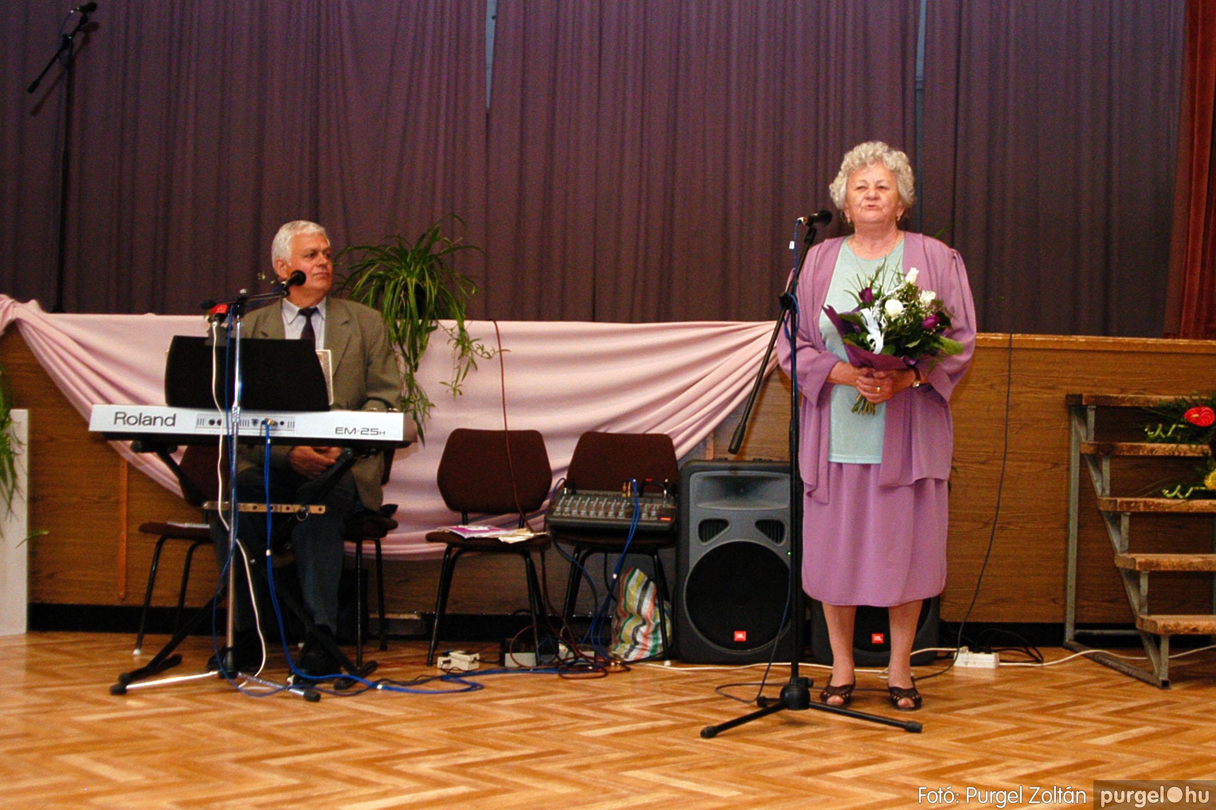 2004.05.04. 048 Szép Öregkor Nyugdíjas Klub találkozó - Fotó:PURGEL ZOLTÁN© DSC_0061q.jpg